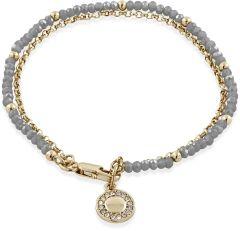 Buckley London Opaque Grey Camden Bracelet BT804