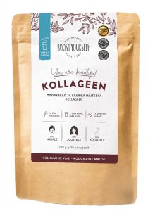 Boost Yourself Supefood Blend Collagen Raw Cacao and Raspberry (300g)