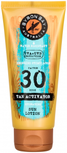 Byron Bay Tan Activator Travel Size SPF 30 (100mL)