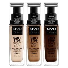 NYX Professional Makeup Can't Stop Won't Stop Full Coverage Foundation (30mL)