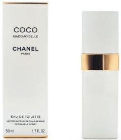 Chanel Coco Mademoiselle EDT (50mL) Refillable Spray