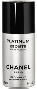 Chanel Egoiste Platinum Deospray (100mL)