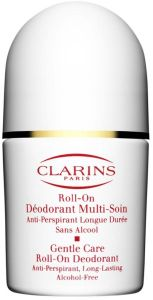 Clarins Gentle Care Roll-On Deodorant (50mL) Alcohol Free