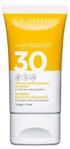 Clarins Sun Care Invisible Facial Gel-to-Oil SPF30 (150mL)