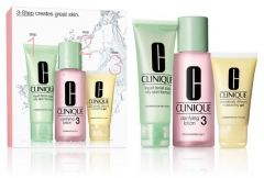 Clinique 3-step Skin Care System 3 for Combination Oily Skin