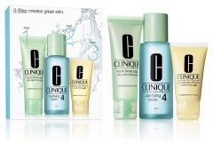 Clinique 3-step Skin Care System for Oily Skin