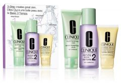 Clinique 3-step Skin Care System for Dry Combination Skin