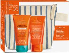 Collistar Active Protection Sun Cream Face&Body SPF30 (150mL) + After Sun Shower-Shampoo (150mL)