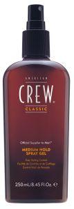 American Crew Medium Hold Spray Gel (250mL)