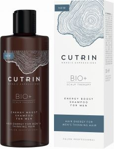 Cutrin BIO+ Energen Boost Shampoo for Men (250mL)