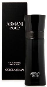 Giorgio Armani Black Code EDT (50mL)