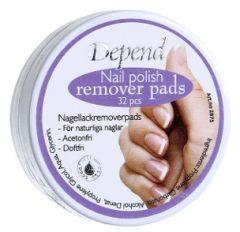 Depend Nail Polish Remover Pads (32pcs)