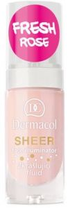 Dermacol Sheer Face Illuminator (15mL) Fresh Rose