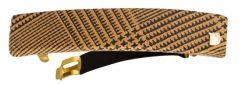 Dondella Hair Clip Tartan Leather HDO20-2-K