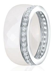 Dondella Ring Ceramic Double 15.25 CJT8-2-R-48