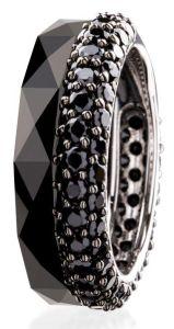 Dondella Ring Ceramic Black 16.5 CJT33-1-R-52