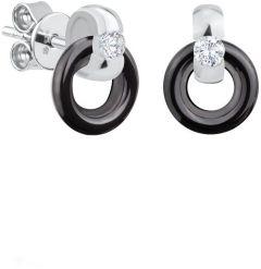 Dondella Earrings Ceramic Circle CJT2-2-E