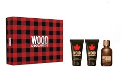 Dsquared2 Wood For Him EDT (50mL) + SG (50mL) + ASB (50mL)