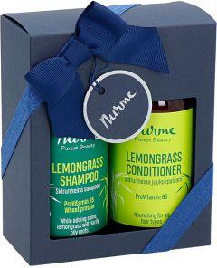 Nurme Natural Hair Care Set Lemongrass