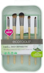 EcoTools Daily Defined Eye Brush Set (5pcs) + Storage Tray