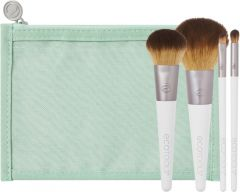 EcoTools On The Go Style Brush Set (4pcs) + Case
