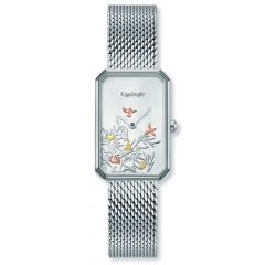 Engelsrufer Watch Tree Of Life Silver Mesh Strap Silver