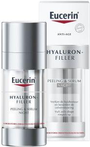 Eucerin Hyaluron-Filler Peeling & Night Serum (30mL)