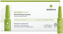 Sesderma Factor G Renew Biostimulating Ampoules New! (7x1,5mL)