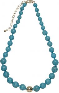 Buckley London Semi Precious Necklaces Turquoise FNL1198