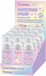 Antiseptic Foam For Children Martinelia (60mL)
