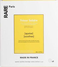 Rare-Paris Trésor Solaire Soothing Face Mask (5x23mL)