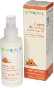 Greenatural Hand Cream With Aloe And Calendula (100mL)