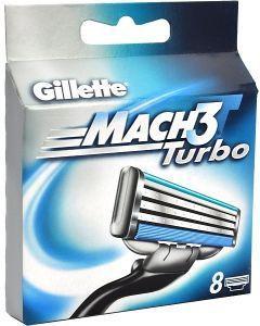 Gillette Mach 3 Turbo (x8)