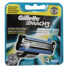 Gillette Mach 3 (x4)