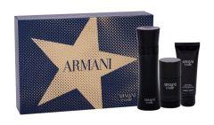 Giorgio Armani Black Code EDT (125mL) + SG (75mL) + Deostick (75mL)