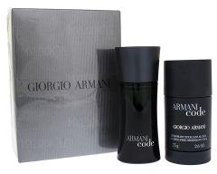 Giorgio Armani Black Code EDT (75mL) + Stick-deodorantti (75mL)