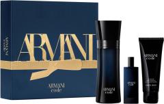 Giorgio Armani Black Code EDT (75mL) + SG (75mL) + EDT (15mL)