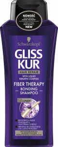 Gliss Kur Shampoo Fiber Theraphy (400mL)