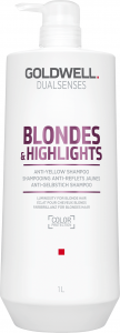 Goldwell DS Blond & Higlights Anti-Yellow Shampoo (1000mL)