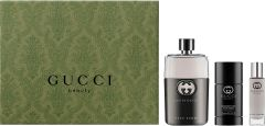 Gucci Guilty Pour Homme EDT (90mL) + Deostick (75mL) + EDT (15mL)