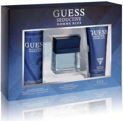 Guess Seductive Blue EDT (100mL) + Shower Gel (200mL) + Deospray (226mL)