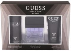 Guess Seductive Homme EDT (100mL) + Shower Gel (200mL) + Deospray (226mL)