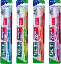Gum Technique Pro Toothbrush Medium Blue