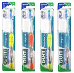 Gum Technique+ Toothbrush Medium Yellow
