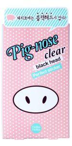 Holika Holika Puhdistavat Tarrat Pig Nose Clear Blackhead Perfect Sticker (10tk)