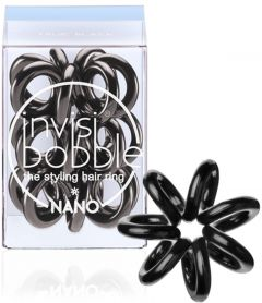 Invisibobble Nano Hair Ring (x3) True Black