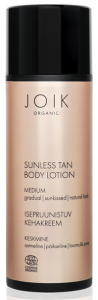 Joik Organic Sunless Tan Body Lotion Medium (150mL)