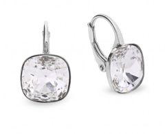 Spark Silver Jewelry Earrings Barete Crystal