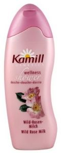 Kamill Wellness Wild Rose Milk Shower Gel (250mL)