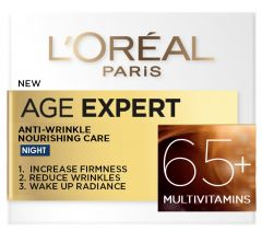 L'oreal Paris Age Specialist Anti-Wrinkle Nourishing Night Cream +65 (50mL)